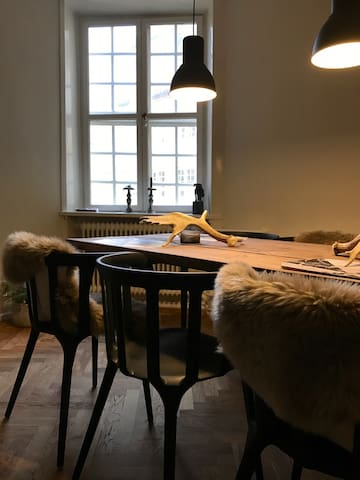 In the heart of the city!! Charming and modern apt - Kopenhaga - Apartament