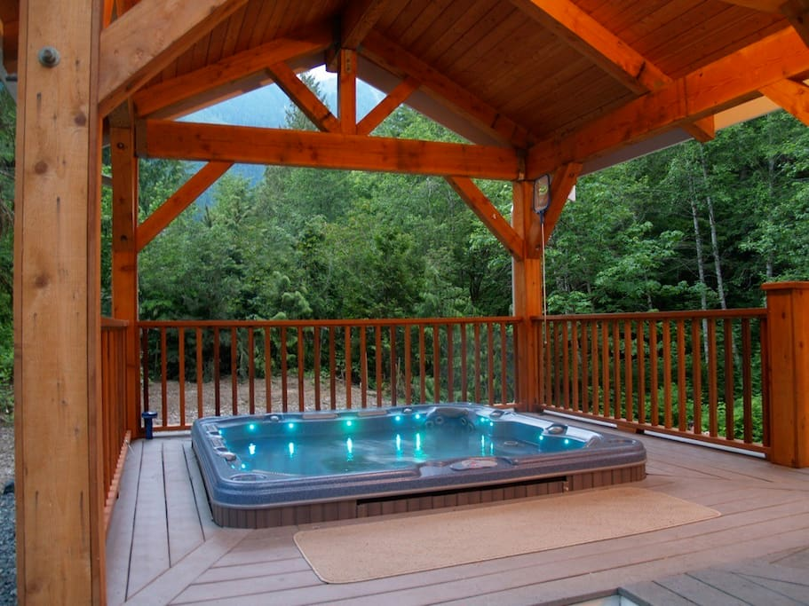 All Season Jetted Dimension 1 Spa with Gazebo