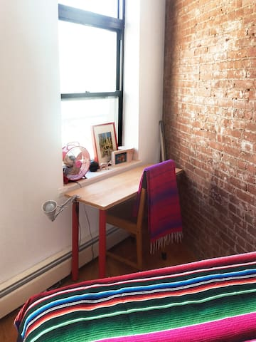 Furnished Bedroom in Cool Chinatown Loft