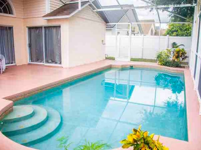 Wonderful and cozy # 4 bed Home near #Disney