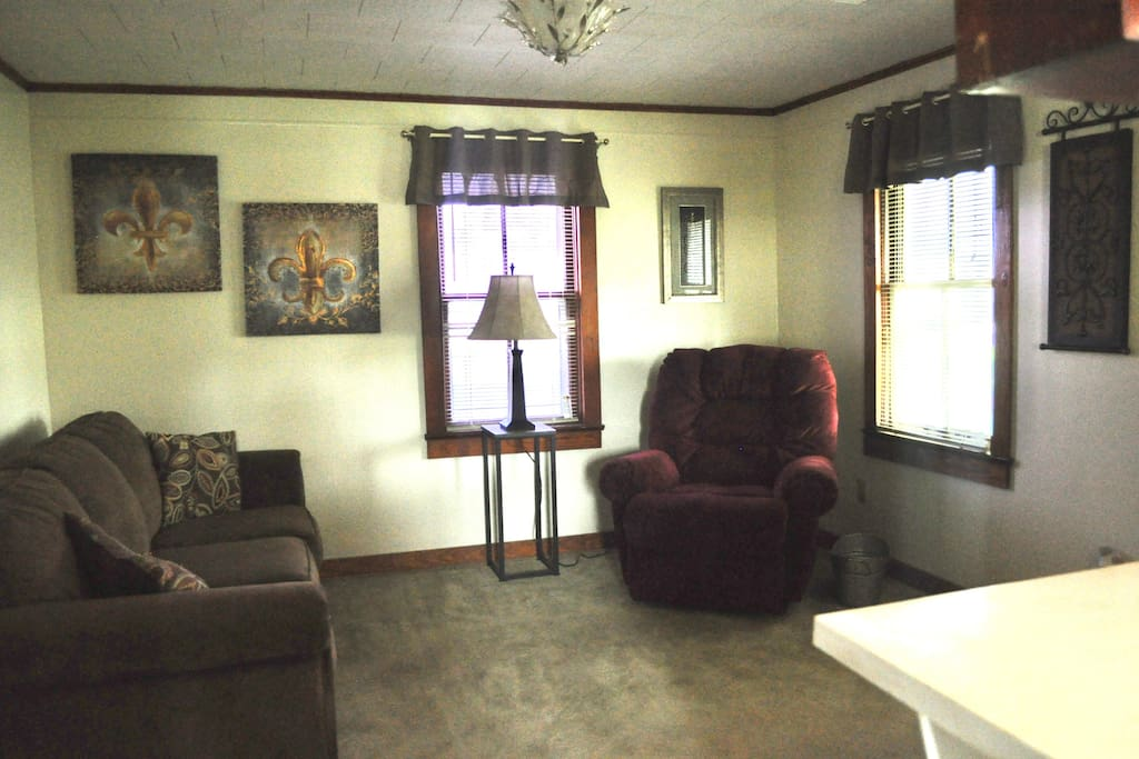 Relax in our cozy living room!