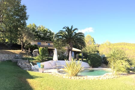 Beautiful villa in South of France - Tourrettes
