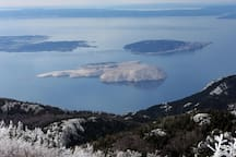 """National Park """"North Velebit"""" by car 35 minute"""