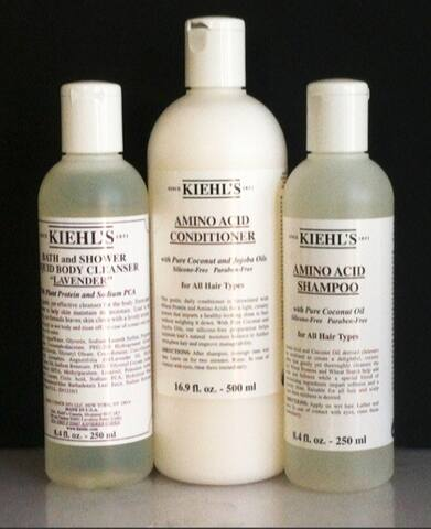 Kiehls Bath products