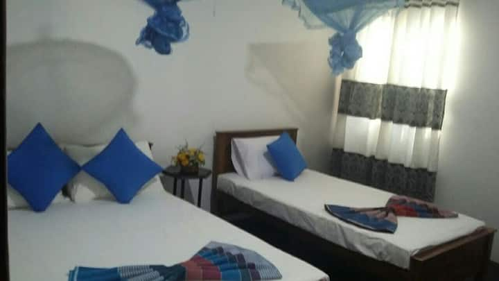 Two bed budget room