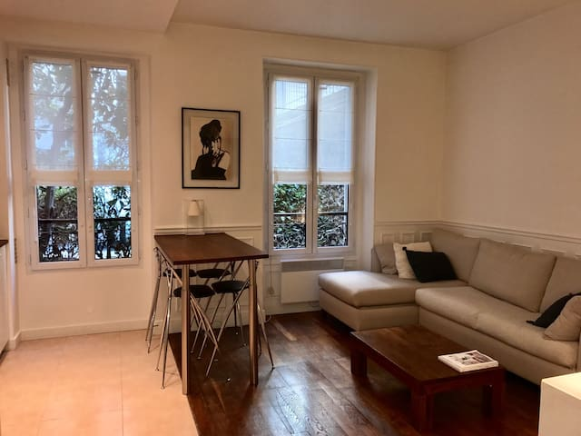 Charming 2 bedroom apt, 15 mn from Paris center - Levallois-Perret - Apartment