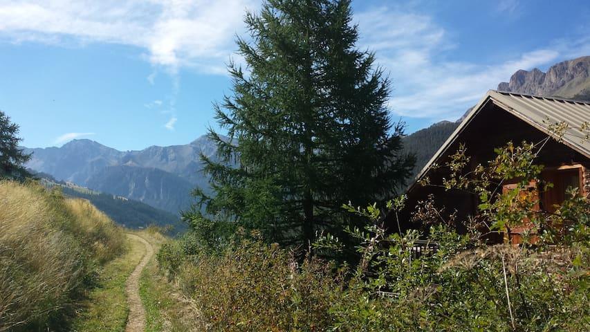 Chalet on village top !Amazing view - Molines-en-Queyras