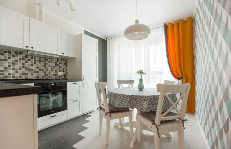 Новая, красивая квартира в Арт Сити (центр)