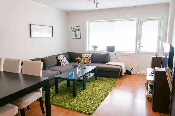 Lovely Room in Modern Apartment with Free Parking - Trondheim - Apartament