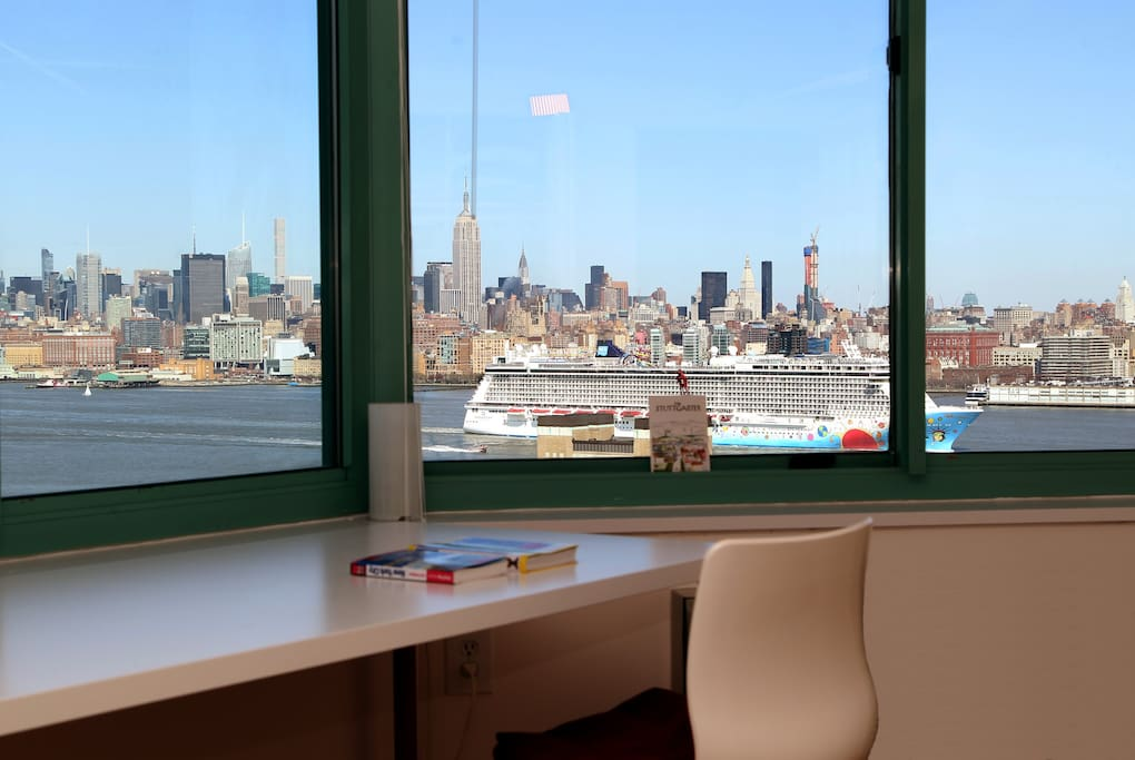 View from your bedroom - Manhattan Skyline