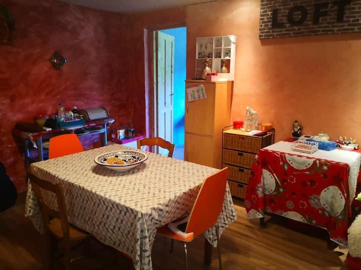 Gîte complet chez l'habitant proche St Emilion