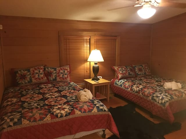 One of our rooms in the Main Lodge