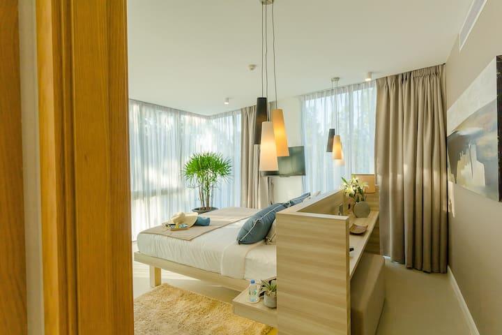 Comfy and quiet 2BR apartments, Laguna view. 2 pools ❤️ BangTao Beach (510)