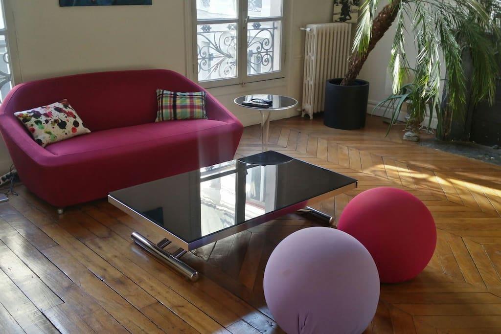 Living room (30 m2)