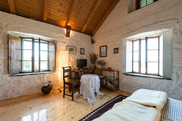Romantisches Studio mit großer Terrasse