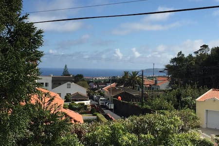 Casa da Fátima, vista serra-mar