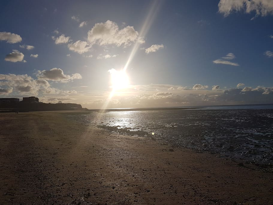 West Bay near Sun Set