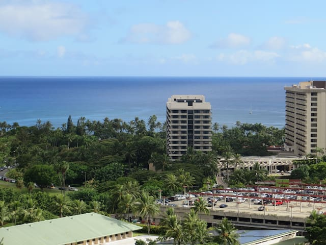 Ocean View Studio in Fabulous Waikiki Beach Legal!