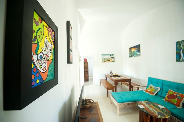 Manga Verde Beach 15: Sweet Paradise - Ilha de Itamaracá - Apartmen