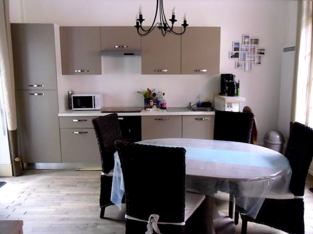 Appartement cocooning 4 personnes avec vue mer - Mers-les-Bains - Wohnung