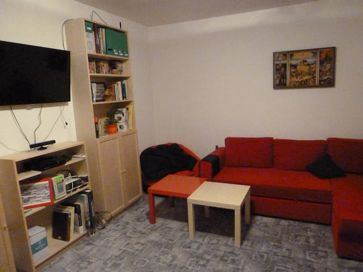Cosy apartment, 15 min to the centre