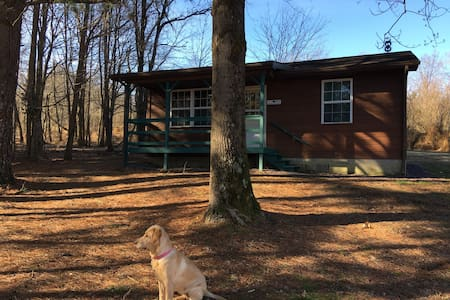 Ma's Cabin,  Alto Pass, IL.  Fine country lodging.