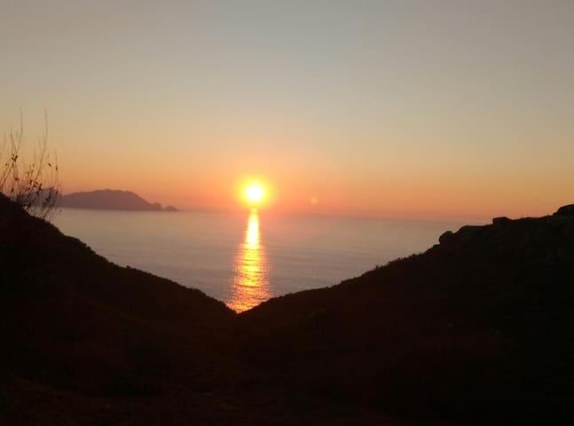 Puesta de sol desde Donón