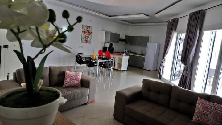 Villa luxe piscine sans vis à vis et WiFi à Djerba