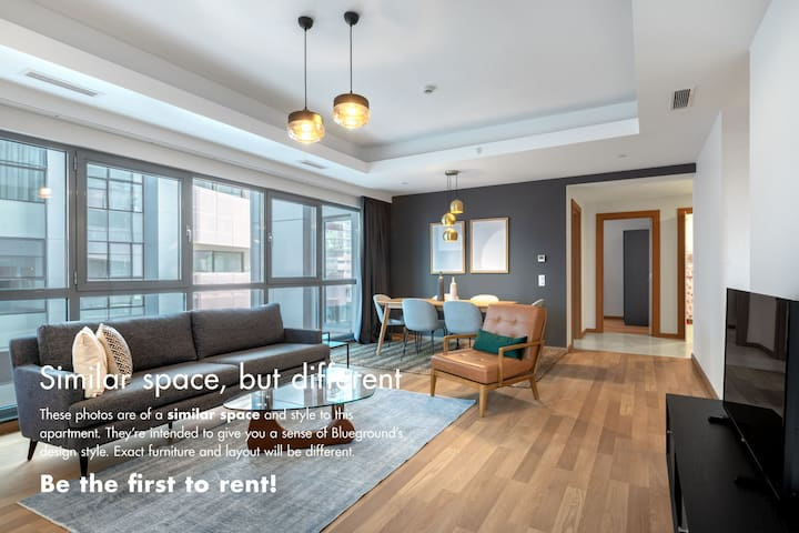 Airy 3BR at Maslak 1453 with Mountain View
