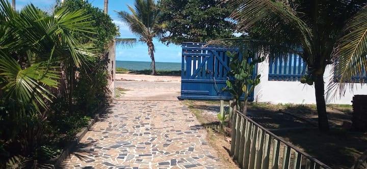 Casa de praia na orla, em  Alcobaça para temporada