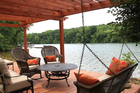 River Rest Lake house - Charlotte - Casa