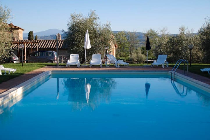 Countryhouse &pool: Siena, Montalcino, Val d'Orcia - Radicofani - Casa