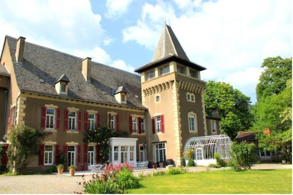 Chateau de Viviez
