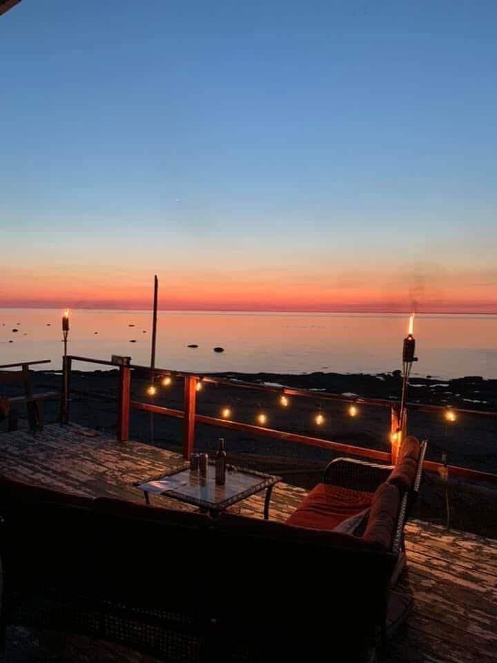 Superbe maison en bordure de mer plage privé