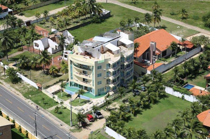 Spacious apartment in  Kite Village, Cumbuco