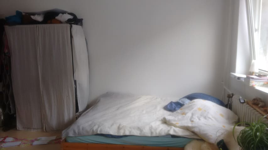the big bed for two..also possible three people;-)