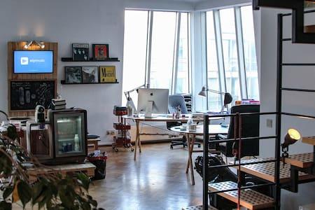 Loft - Bureau startup music en plein coeur de Bxl - Bruxelles