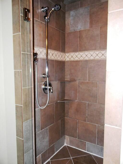"The ""Love"" Shack 116 ST-Downstairs bath"