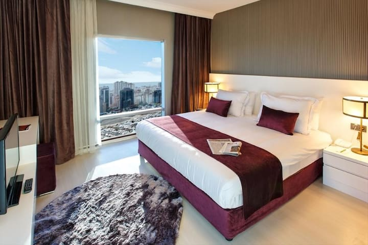 LUXURY SUITE 1 + 1 - Ataşehir - Apartment