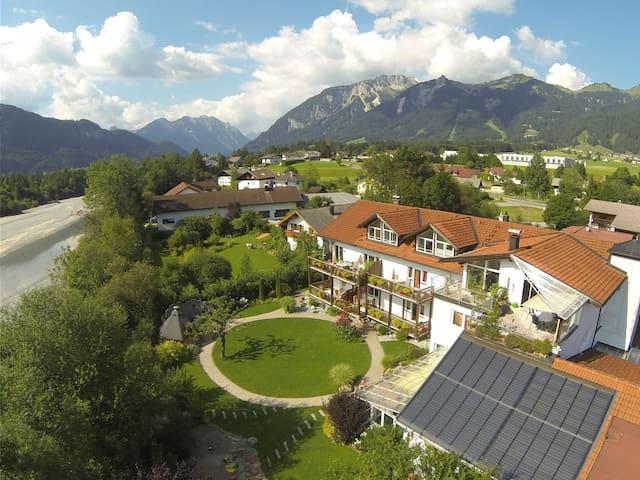 Schöne Fewo- Nahe Neuschwanstein, Super Bergblick