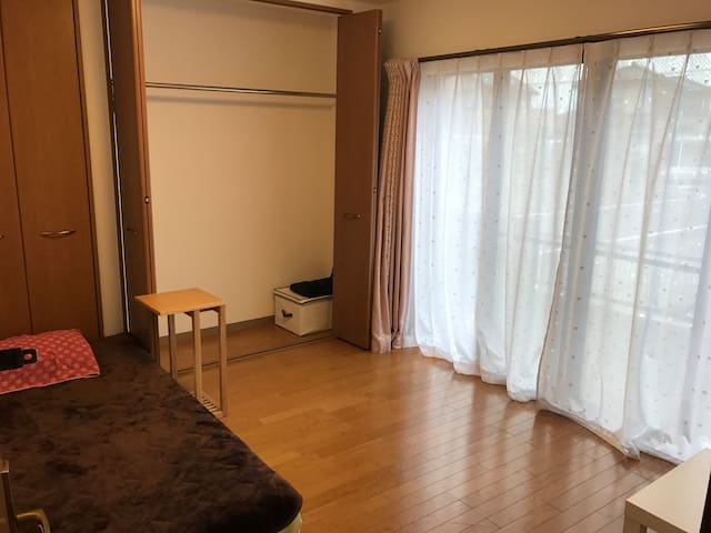8.2m single bed room in 1st floor - Hanyū-shi - Casa