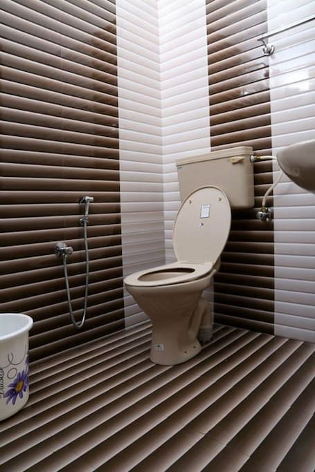 your private bath room with shower