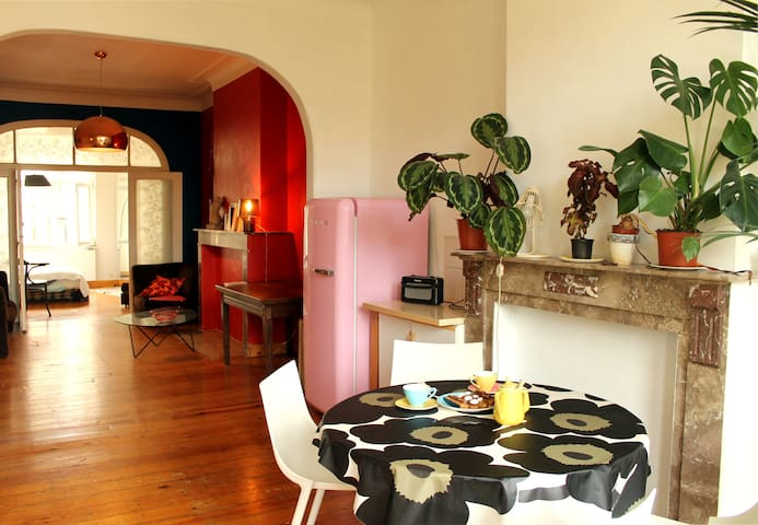 Art déco flat , 80m2 and very bright ! - Forest - House