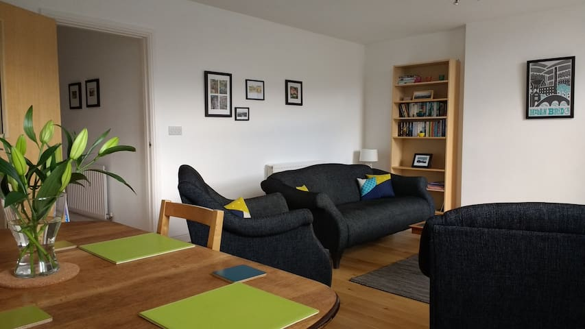 Apartment with fabulous views - Hebden Bridge - Leilighet