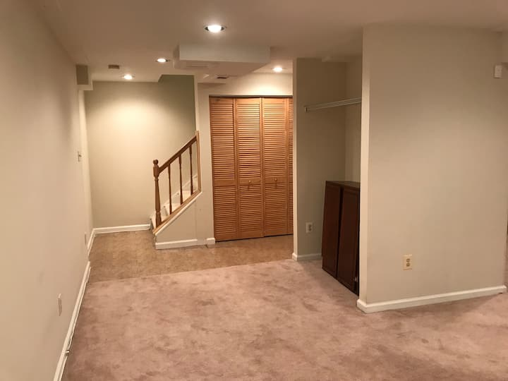 Recently renovated basement for rent