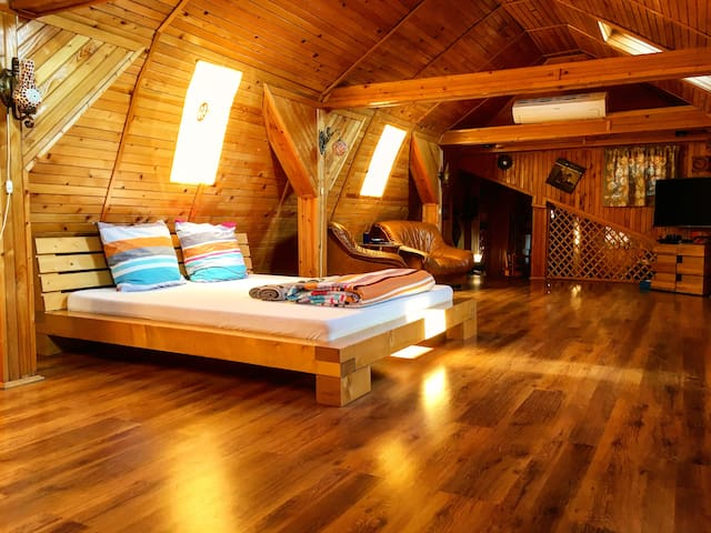 Wooden Attic Suite - Brasov - Loft