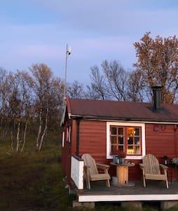 Superkoselig hytte med helt unik beliggenhet