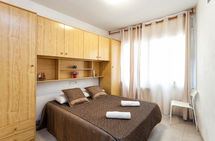 Appartement centrum Lloret de Mar 50 mtr va strand