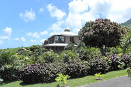 Lux Rainforest Villa - Garden Suite/Ocean View - Church Ground