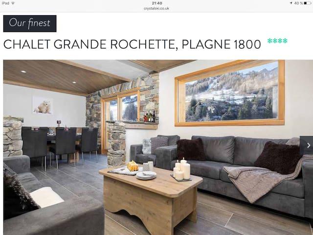 Chalet cosy neuf la plagne 1800 - Mâcot-la-Plagne - Chalet